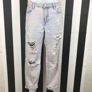 5 for $25 Forever 21 Distressed Boyfriend Jeans